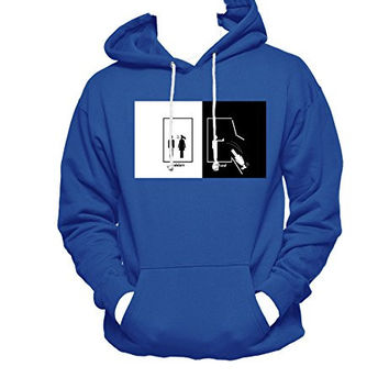 Harry Potter Ravenclaw MEN WOMEN UNISEX PULLOVER FUNNY GRAPHIC HOODIE - Blue