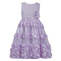 Bonnie Jean Floral Bonaz Party Dress - Girls
