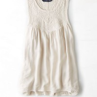 AEO 's Embellished Acid Washed Tank