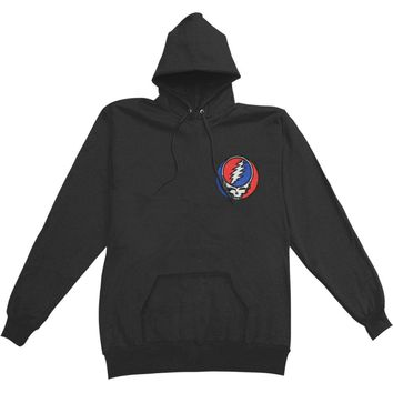 Grateful Dead Men's  SYF Hooded Sweatshirt Black