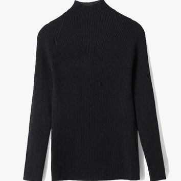 Turtleneck Wool Sweater