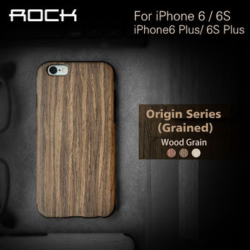 for iphone 6s 6 4.7 wood pattern Silica gel case luxury cover Rock tpu back case for iphone 6s 6 case free shipping