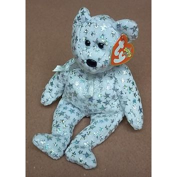 Ty Beanie Babies The Beginning Bear -- Used