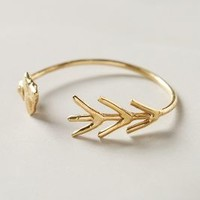 Akiko Arrow Cuff by Linanoel Gold One Size Jewelry