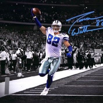 JASON WITTEN SIGNED COWBOYS 11X14 PHOTO FRAMED COA AUTOGRAPH DALLAS