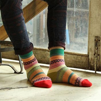 Colorful Unisex Cotton socks