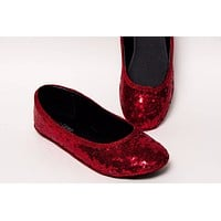 Select Your Color of Starlight Sequin Ballet Flats