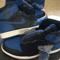DS Air Jordan 1 I Retro OG High 2017 Royal 100% Authentic Size 10