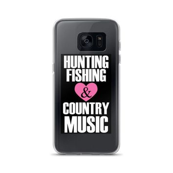 Hunting Fishing Country Music Fans Samsung Case