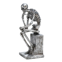 The Thinker Skeleton Statue