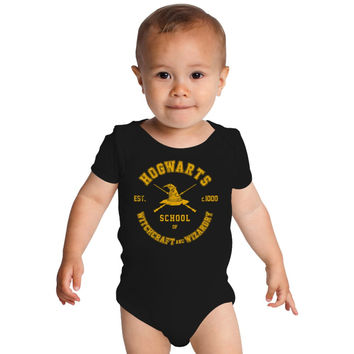 Harry Potter, Hogwarts Graduation Baby Onesuits