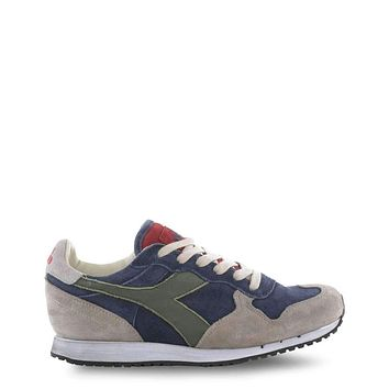 Diadora Heritage Trident Men Blue Sneakers
