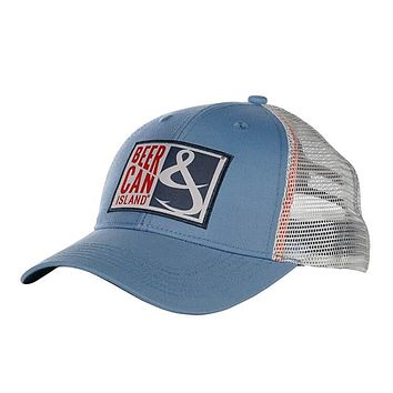 Beer Can Island Fishing Trucker Hat