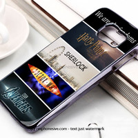 Fandoms Harry Potter Sherlock Doctor Who Avengers Samsung Galaxy S6 and S6 Edge Rubber Case