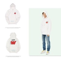 Hoodies Winter Alphabet Couple Pullover Jacket [11412549831]