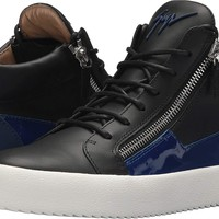 Giuseppe Zanotti Mens May London Birel Mid Top Sneaker