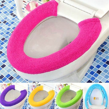 All Shape Toilet Cover Seat Lid Pad Bathroom Protector