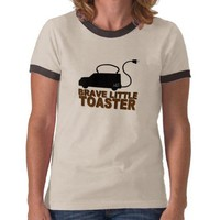 Brave Little Toaster T-Shirt from Zazzle.com