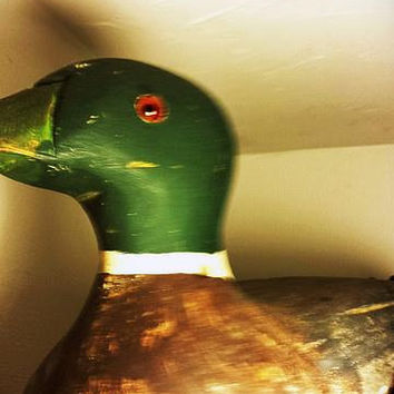 Duck Decoy Handcarved