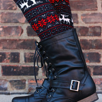 Secret Rebel Boot - Black