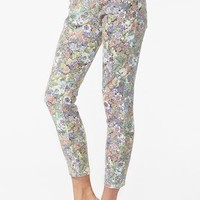Run Down Skinny Jeans - Floral  in  Clothes at Nasty Gal