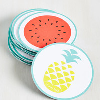 Pina Colada the Shots Coaster Set