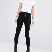 Cheap Monday High Spray Super Skinny Jeans With Zip