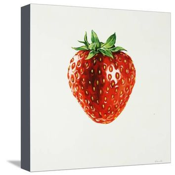 Strawberry Giclee Print by Sydney Edmunds at Art.com