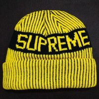 Supreme Women Men Embroidery Beanies Warm Knit Hat Cap-25