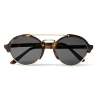 Illesteva - Milan Acetate and Metal Round-Frame Sunglasses | MR PORTER
