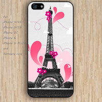 iPhone 5s 6 case paris eiffel tower phone case iphone case,ipod case,samsung galaxy case available plastic rubber case waterproof B252