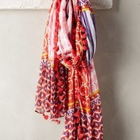 Patched Fete Scarf by Anthropologie