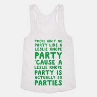 There Ain't No Party Like a Leslie Knope Party