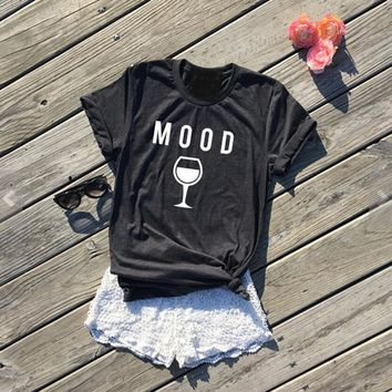 Mood - Wine - Women's Drining Tee