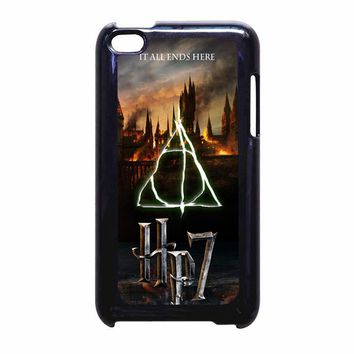 Harry Potter Deathly Hallows iPhone leaftunes iPod Touch 4 Case