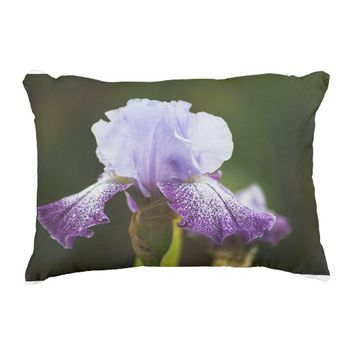 Iris. Decorative Pillow