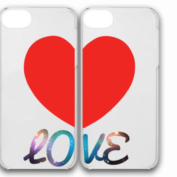 iphone case,love heart cuple clear,iphone 5 case,iphone 4/4s case,samsung s3,s4 case,accesories,cell phone,hard plastic.
