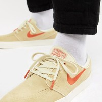 Nike SB Zoom Stefan Janoski Trainers In Beige 333824-217 at asos.com