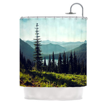 "Sylvia Cook ""Discover Your Northwest"" Landscape Shower Curtain"
