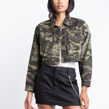 Boot Camp Camo Jacket