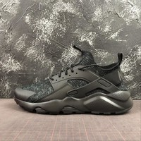 "Nike Air Huarache 4 Run Ultra SE ""Black"" Sport Shoes - Best Online Sale"