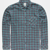 Quiksilver Pinelook Mens Shirt Blue  In Sizes