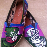 Tea Party Alice in Wonderland Shoes