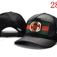 Gucci Embroidered Hat Baseball Cap Hat 2899