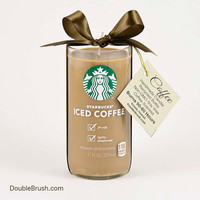 Starbucks Candle Iced Coffee Upcycled US Shipping Included