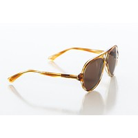 Scottie Sunglasses in Brown Havana with Safari Brown Lens by Red's Outfitters