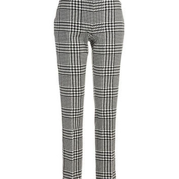 Michael Michael Kors Petite Houndstooth Plaid Pants