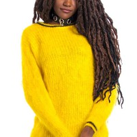 Vintage 90's Banan-o-rama Yellow Sweater - One Size Fits Many