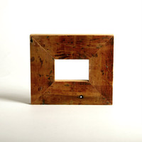 Small Frame, New Orleans reclaimed wood - antique cypress -  rustic decor christmas gift charming CYBER Monday Etsy