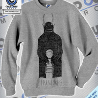 Cold Cuts Merch - Fireworks Monster Crew Neck